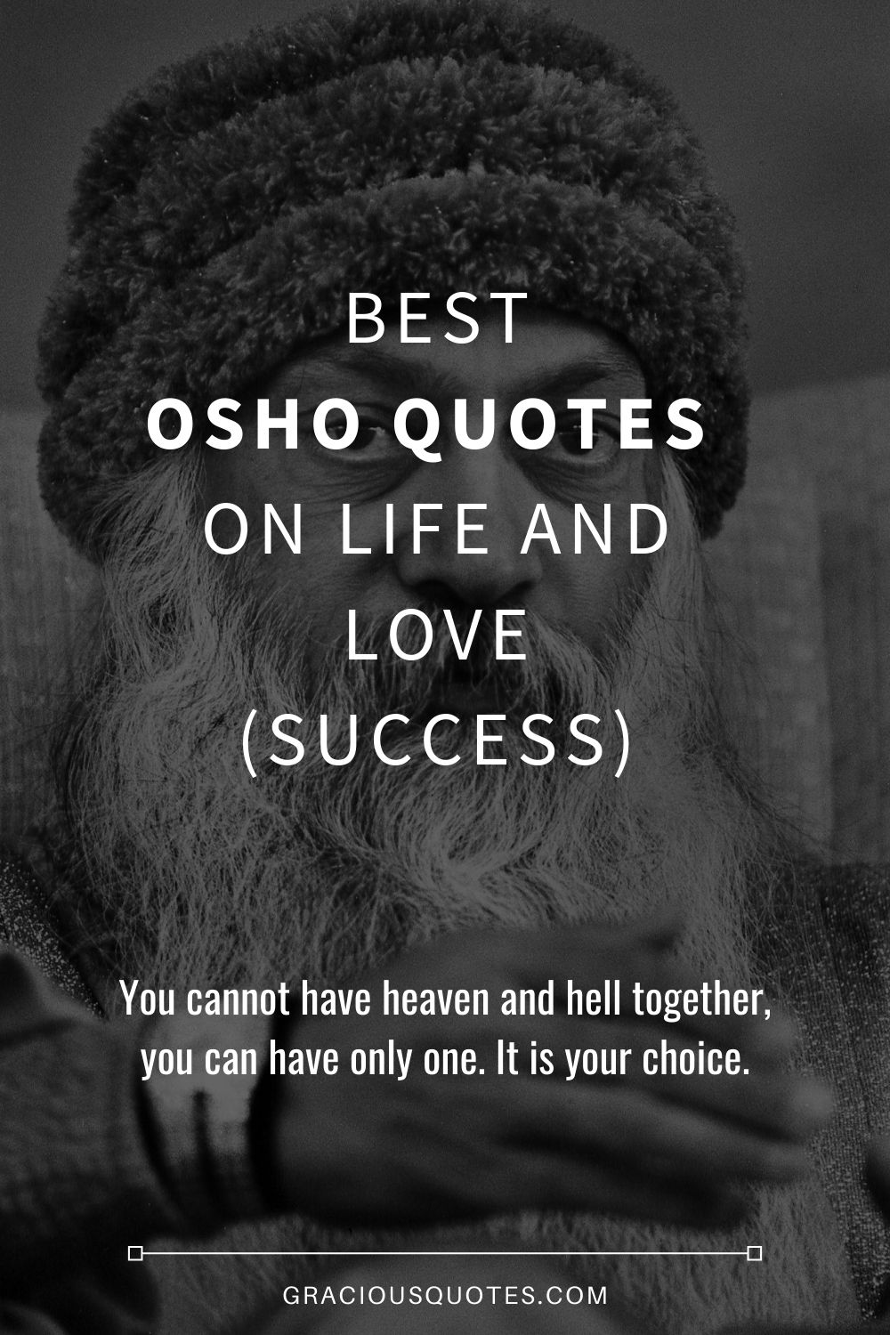 9 Best Osho Quotes on Life and Love (SUCCESS)